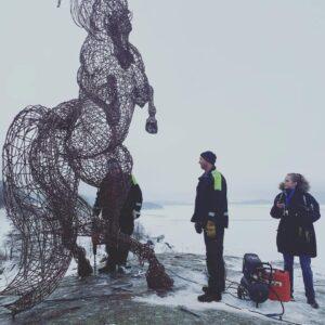 Monatge av häst